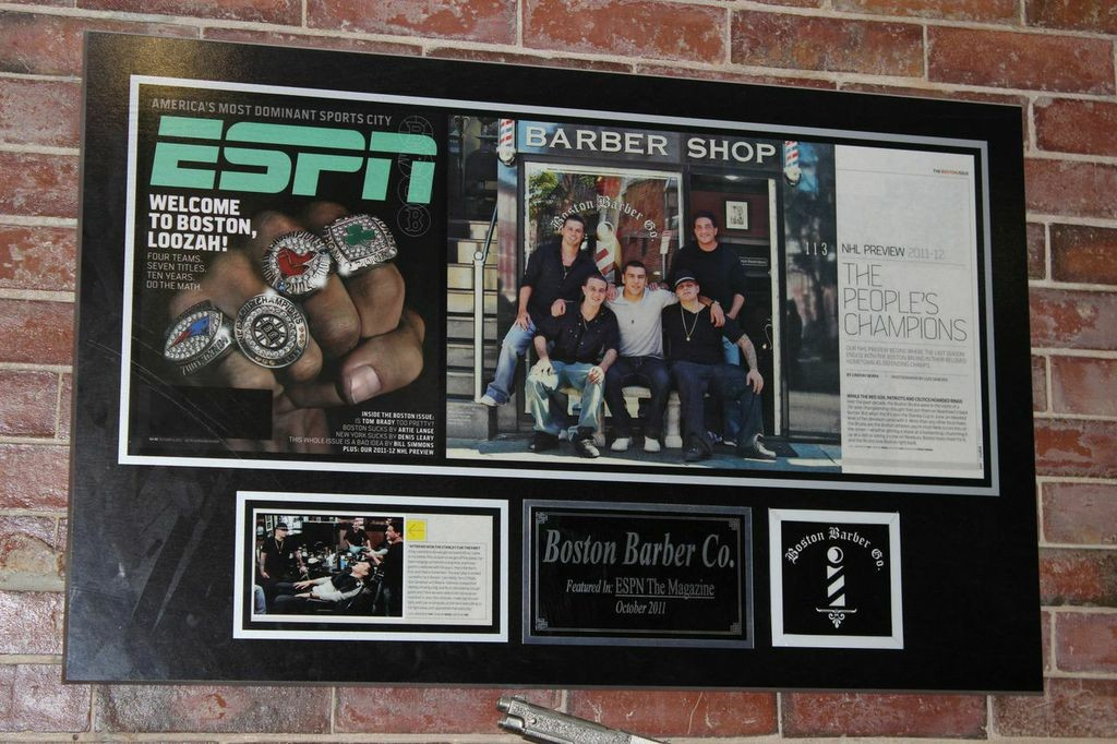 ESPN Feature on Boston Barber & Tattoo Co.